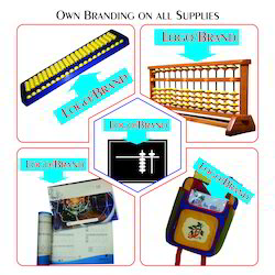 Own Branded Abacus Tools and Books