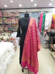 Designer Banarasi Silk Dupatta