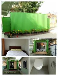 Container Hotel Room