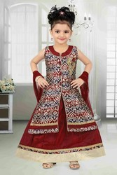 Palazzo Straight Cut Kids Salwar Suits