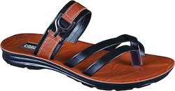 Poddar PU Gents Office Designer Slipper