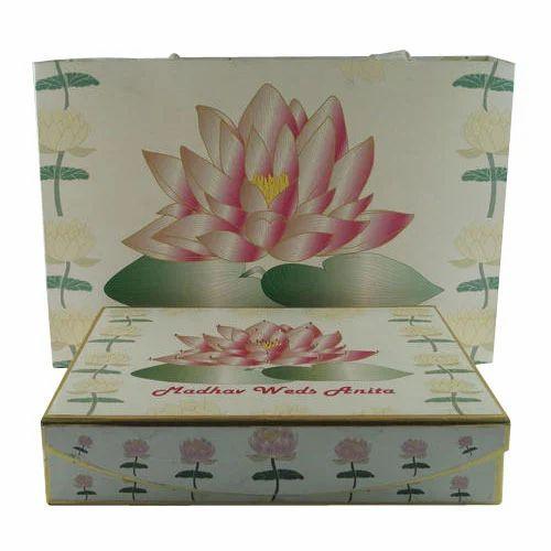 lotus invitation card box at rs 220 piece invitation box id