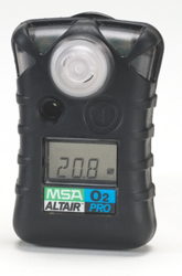 MSA Altair Pro O2 Gas Detector