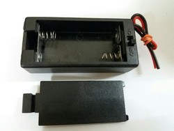 AA 2 Cell Battery Holder with on off switch type