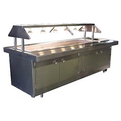 Stainless Steel Buffet Counter