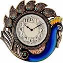 Peacock Hanging Wall Clock