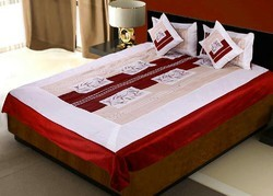 Fancy Design 5 Piece Silk Bedcover set 379