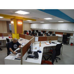 Y Shape Office Workstation