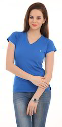 Ladies Blue Ladies T-Shirt