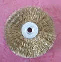 Brass Coated Circular Wire Brush