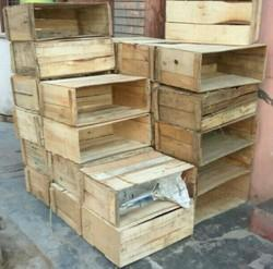 Wooden Fruit Box