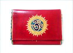 Shanti Leather Clutch