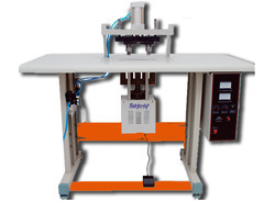 Double Spot Non Woven Handle Loop Machine
