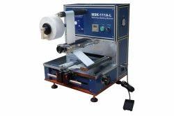 Pouch Z Folding Machine