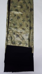 Printed Sequin Work Stole FS-1608