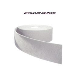 Abrasive Web Without Abrasive Grain For Cleaning
