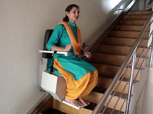 Staircase Lift | Pack Age Systems | Manufacturer in Anant Colony ...