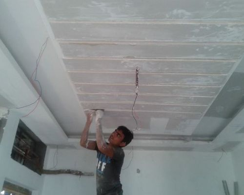 False Ceiling Contractor Work Gypsum False Ceiling