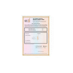 Share Certificate Printing