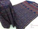 Cotton Hand Block Printed Sarees, Length: 6.3 M