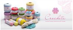 HP Crochet Cotton Threads, for Hand Knitting
