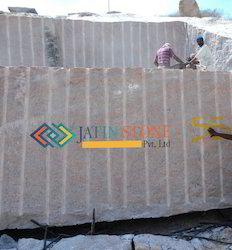 Multy Red Granite Blocks