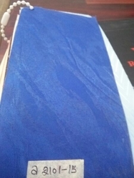 Blue vl roller blind