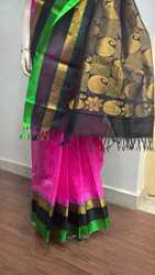 Fancy Korvai Silk Saree