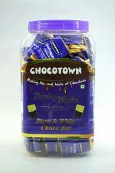 Bar Premium Dark N White Chocolate