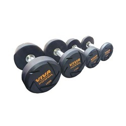 VIVA Fitness TPR Solid Dumbbells