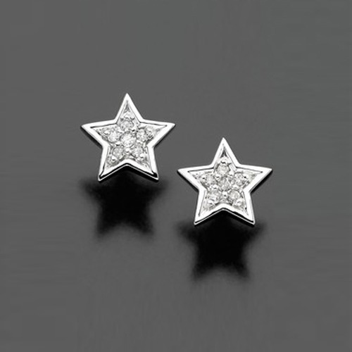 Sheetal Diamond Studded Star Shape Earring