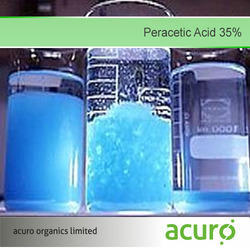 Peracetic Acid 35%, For Oxidising Agent, Pack Size: 50 Kg