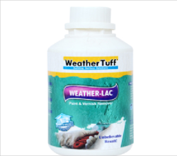 Weather lac Paint Remover
