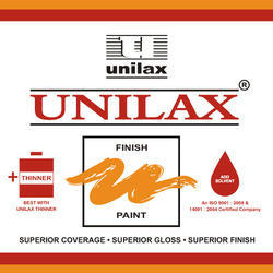 UNILAX High Gloss Synthetic Enamel Paint, Packaging Type: Tin