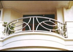 Steel Ss Balcony Railing