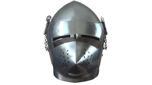 Pig Face Bascinet Helmet - View Specifications & Details of