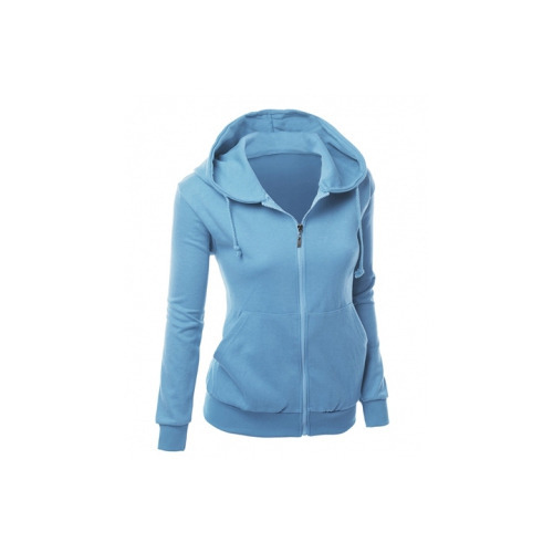 08a2159d8e5f2 Sky Blue Girls Stylish Hoodie, Rs 400 /piece, Tri Knit | ID: 14090808362