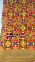 Pure Georgette Fabrics