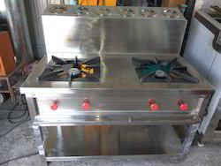 S.s Two Hotel Burner Gas Range, For Hotels And Restaurarants
