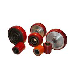Solid Polyurethane Tired Wheels