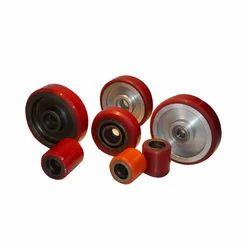 Moldon Polyurethane Tired Wheels