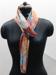 Abstract Print Scarves