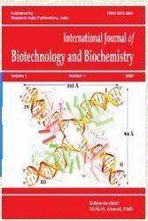 International Journal Of Biotechnology And Biochemistry