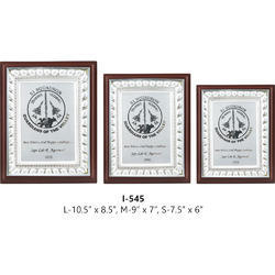 Wooden Plaque (Silver)