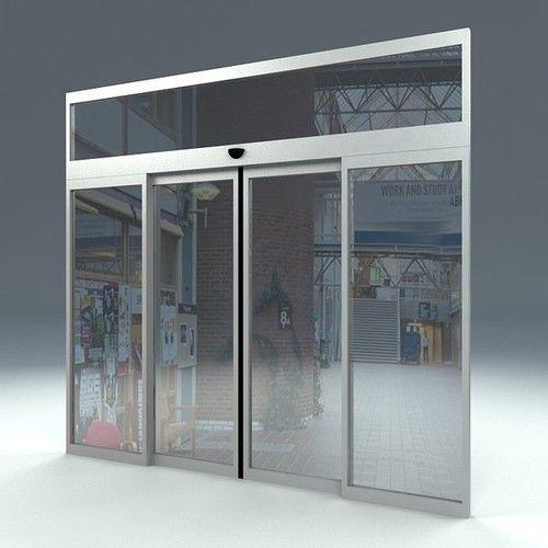 Automatic Glass Doors At Rs 89000 Piece Sensor Glass Door