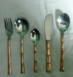 Copper Bamboo Cutlery