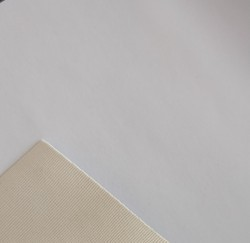 PVC Leather Cloth White Matte Finish