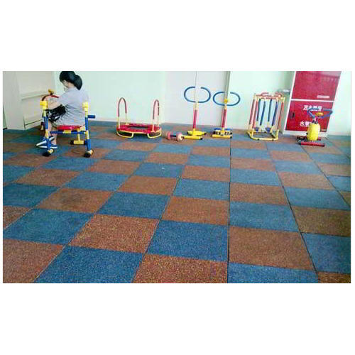 Play Way Rubber Flooring Tile