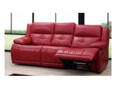 Godrej Interio Columbia Seater Synthetic Leather Sofa
