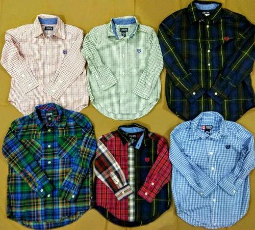 3ba5841bd914 Mixed Cotton Boys Shirts